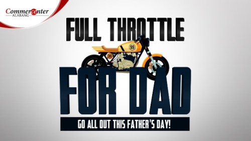 Commercenter Alabang Father's Day