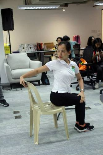 Chair Yoga Healthway Medical