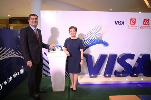 Visa and Robinsons Contactless Payments