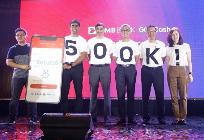 CIMB GCash GSave 500K Customers