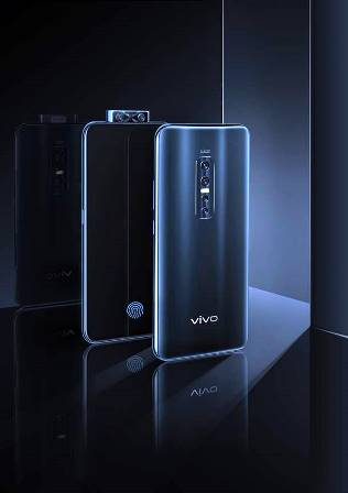 Vivo V17Pro Front and Back