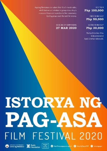 Istoryang Pag-asa Film Festival Returns in 2020