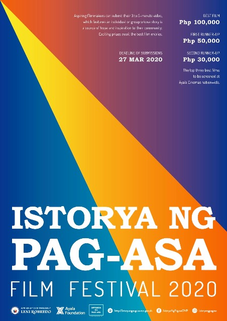 Istoryang Pag-asa Film Festival Returns in 2020