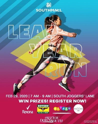 SM Southmall Leap Year Run Jogger's Lane
