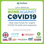 Paymaya OneAgainstCOVID19