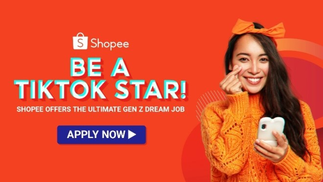 Shopee be a TikTok Star