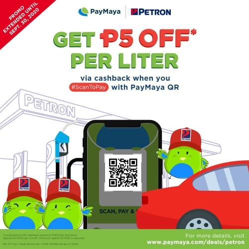 PayMaya QR ScanToPay Petron