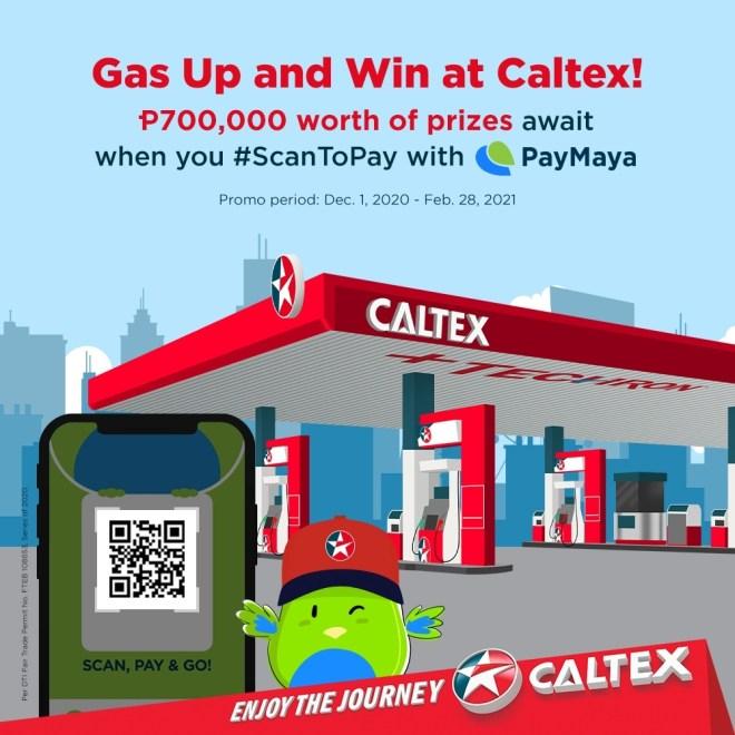 PayMaya-CALTEX Fuel Up Raffle
