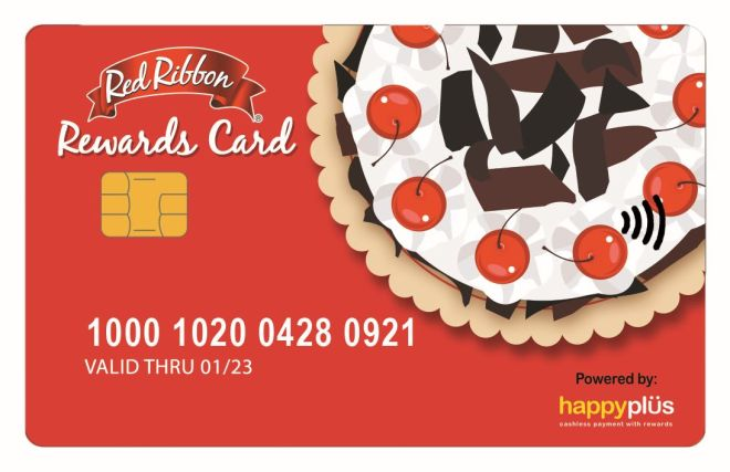 Red Ribbon Rewards Card