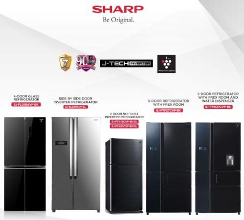 Sharp J-Tech Inverter Refrigerator and Air Conditioner