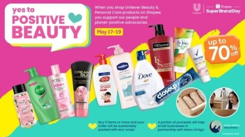 Shopee Unilever Shop Positive Beauty Sale