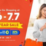 Go Shopping on Shopee 6.6-7.7 Mid-Year Sale