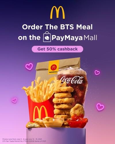 PayMaya-McDo BTS Meal
