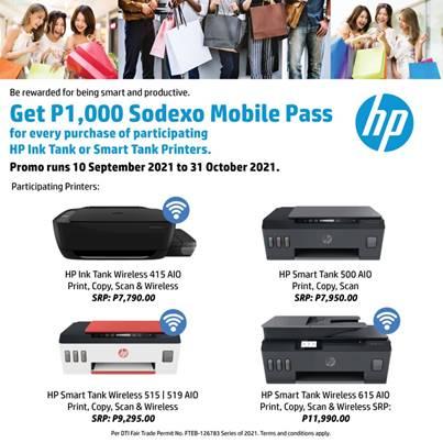 HP Ink Tank Smart Printer Promo