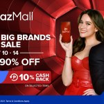 LazMall 10.10 Big Brands Sale Bea Alonzo