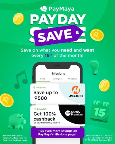 #PayMayaPayDaySave