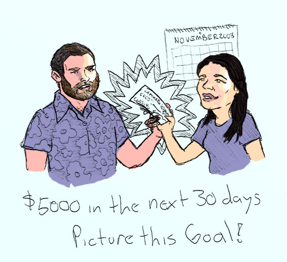 How we made our money. By drawing it!