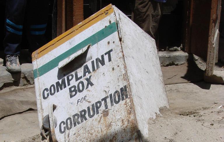 UK corruption problem