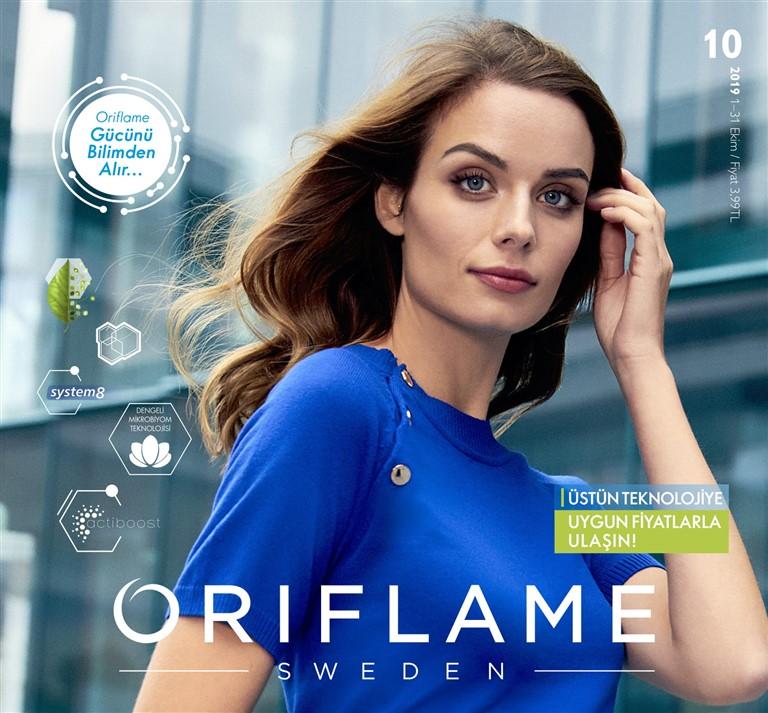 Oriflame ekim Kataloğu 2019