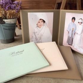 2面台紙 婚礼和装