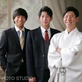男性袴 着物レンタル 紋付袴
