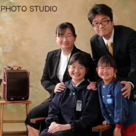家族写真ファミリーフォト 卒業記念