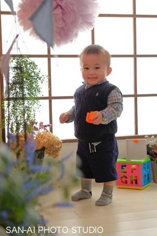 1才 お誕生日 バースデーフォト 誕生日記念撮影