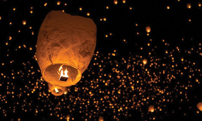 Night Lights Lantern Festival At San Antonio Raceway
