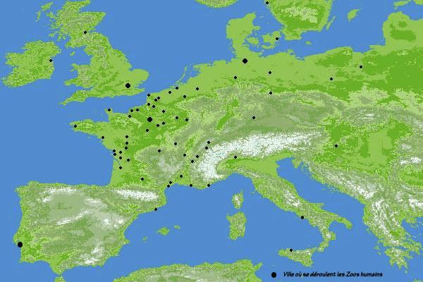 Avrupa'daki İnsana Bahçeleri olan ülkeler