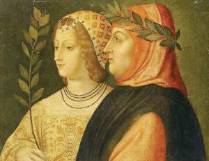 Petrarca, Laura ile birlikte