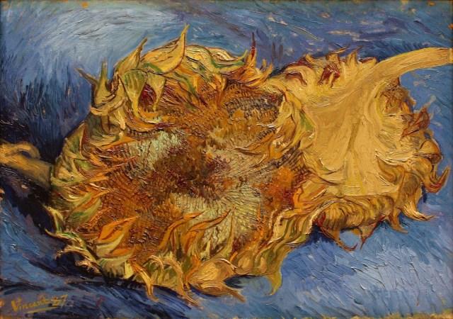 "Van Gogh ""'Two Sunflowers"" (1887)"