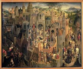 Hıristiyan ikonografisinde İsa'nın çarmıha gerilişiyle ilişkili olarak çektiği acılar 'Passion' terimiyle adlandırılır. İsa'nın insanoğlunun günahları için kendini kurban edişi sürecini ifade eden 'Passion' aynı zamanda onun 'dünyasal' yaşamının son dönemini de tanımlar.
