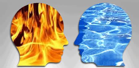 Tez ve antitez ile farlılığımızın farkına varabiliriz.
