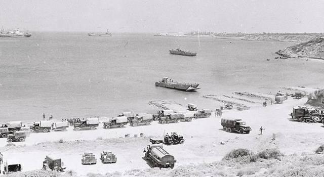Adaya ilk ayak basan Türk askerleri