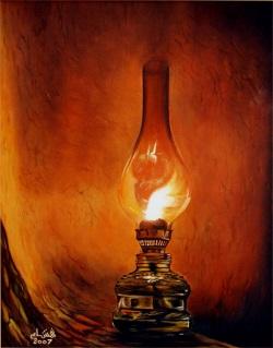 Kokusu baygın gaz lambası…