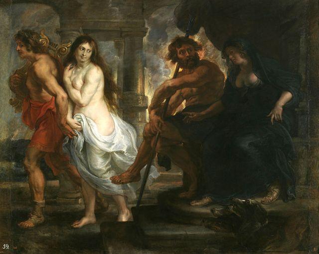 Peter Paul Rubens, Orpheus and Eurydice