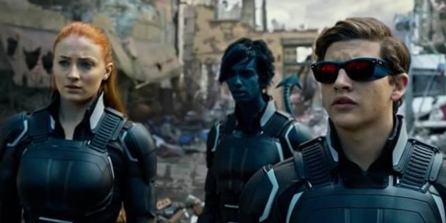 Öğrenciler X-Men olma yolunda: Jean Grey, Nightcrawler, Cyclops