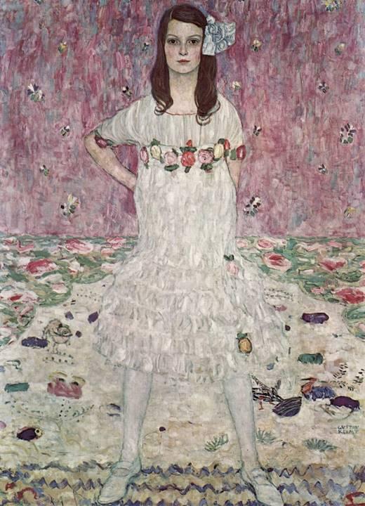 Gustav Klimt resimleri sembolizmin en iyi örneklerini temsil eder.
