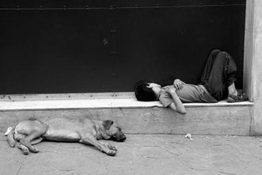 Sokak Çocuğunun Fotoğrafı