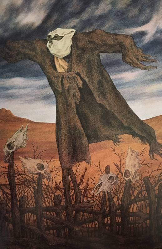 Resim 15: Korkuluk XI, 1989,Tuval/ yağlıboya, 164x114cm
