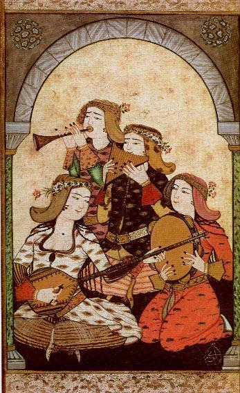 Osmanlı lale Devri (17. YY) Kültür sanat Eserleri