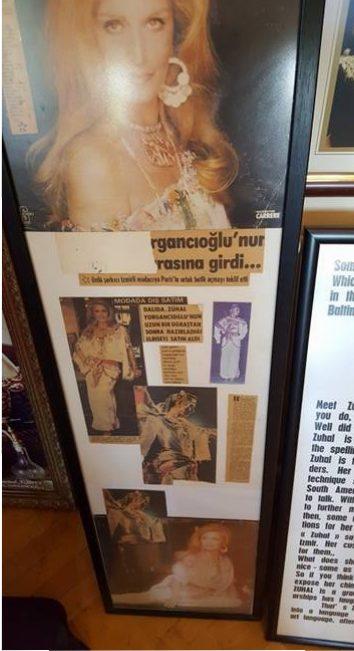 Madam Z'nin şarkıcı Dalida'ya yaptığı elbise