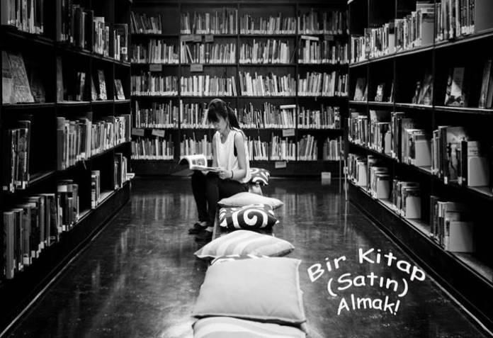 Bir Kitap -(Satın)- Almak