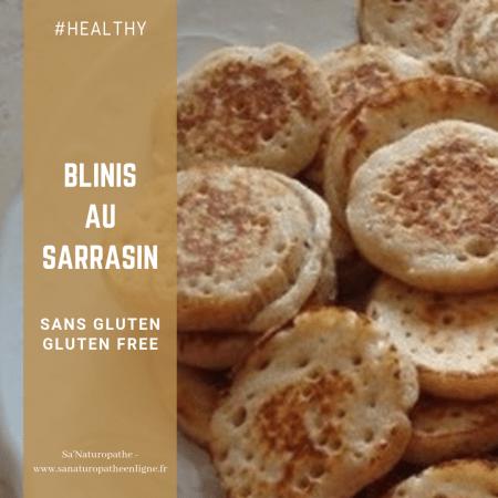 recette blinis au sarrasin