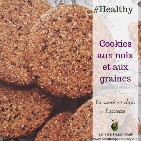 cookies sain healthy