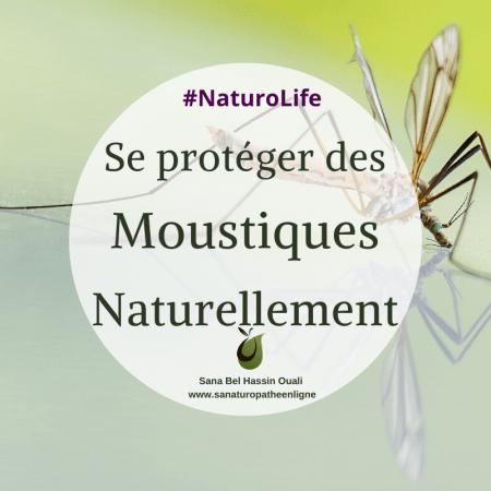 Se proteger des moustiques naturellement : la naturopathie la rescousse
