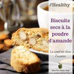 Biscuits secs à la poudre d'amande