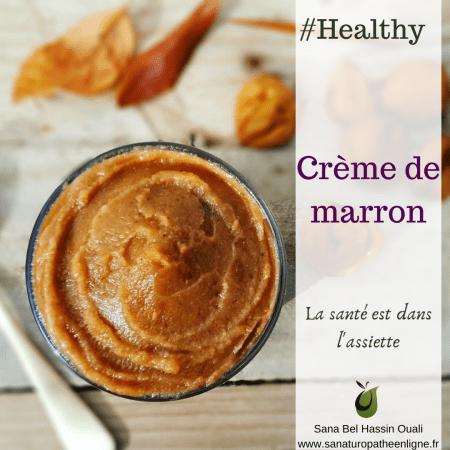 recette crème de marron crème de châtaigne