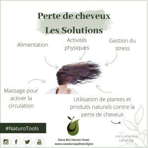 Perte de cheveux les solutions naturelles
