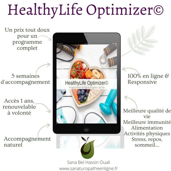 Programme d'hygiène de vie en ligne